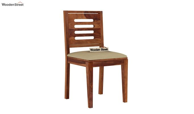 Janet 6 Seater Dining Set with Bench (Teak Finish)-7