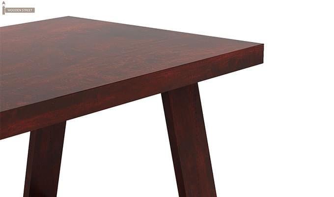 Jaoquin 6 Seater Dining Set (Mahogany Finish)-13