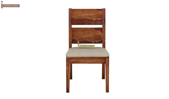 Kietel 6 Seater Dining Set With Bench (Teak Finish)-4