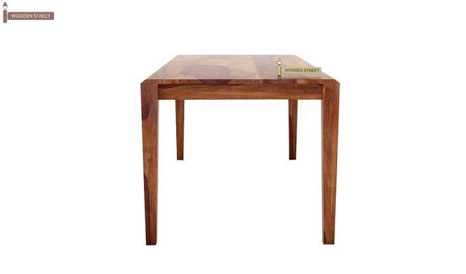 Kietel 6 Seater Dining Set With Bench (Teak Finish)-6