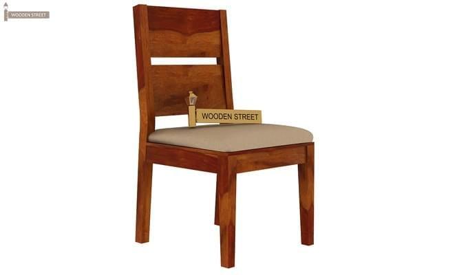 Kietel 6 Seater Dining Set (Honey Finish)-5