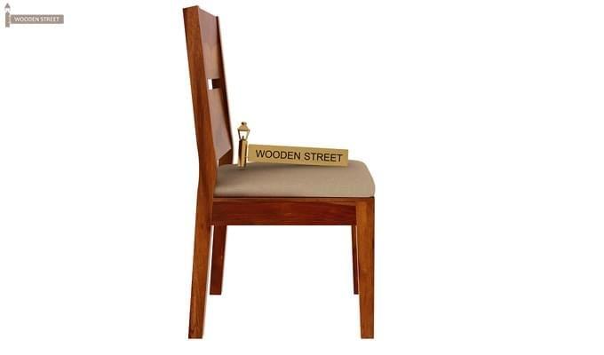 Kietel 6 Seater Dining Set (Honey Finish)-7
