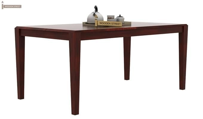 Kietel 6 Seater Dining Set (Mahogany Finish)-4