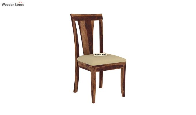 Mcbeth Storage 6 Seater Dining Table Set With Bench (Teak Finish)-8