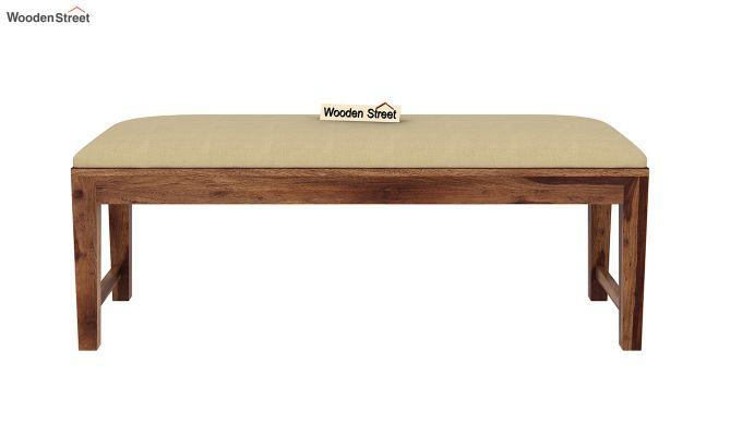 Mcbeth Storage 6 Seater Dining Table Set With Bench (Teak Finish)-11