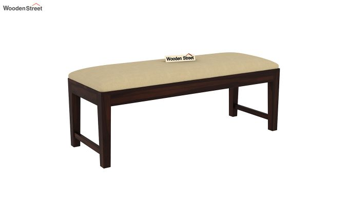 Mcbeth Storage 6 Seater Dining Table Set With Bench (Walnut Finish)-9