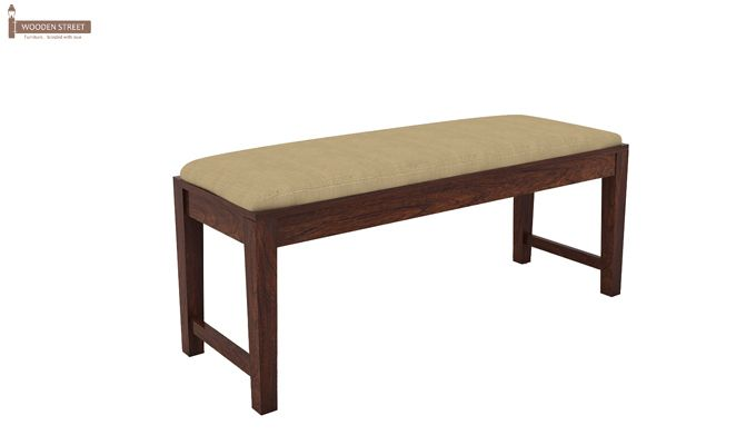 Mcbeth Storage 6 Seater Dining Table Set With Bench (Walnut Finish)-8