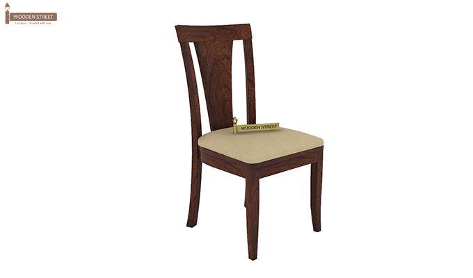 Mcbeth Storage 6 Seater Dining Table Set (Walnut Finish)-7