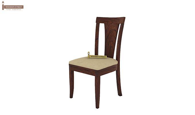 Mcbeth Storage 6 Seater Dining Table Set (Walnut Finish)-8