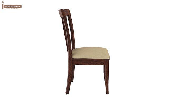 Mcbeth Storage 6 Seater Dining Table Set (Walnut Finish)-9