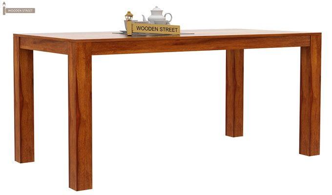 Mckinley 6 Seater Dining Set (Honey Finish)-3