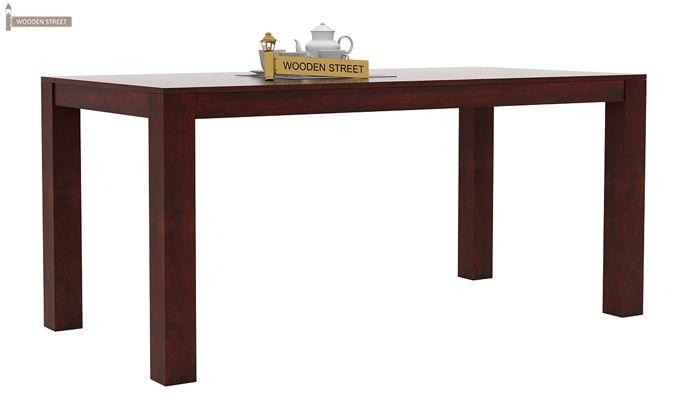 Mckinley 6 Seater Dining Set (Mahogany Finish)-4