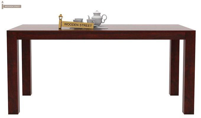 Mckinley 6 Seater Dining Set (Mahogany Finish)-5
