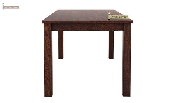 Mckinley 6 Seater Dining Set With Bench (Walnut Finish)-3