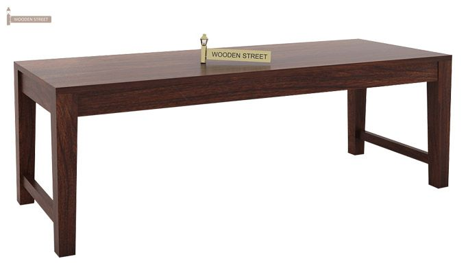 Mckinley 6 Seater Dining Set With Bench (Walnut Finish)-8