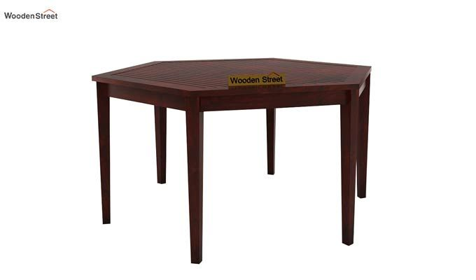 Mohave 6 Seater Dining Table Set (Mahogany Finish)-3