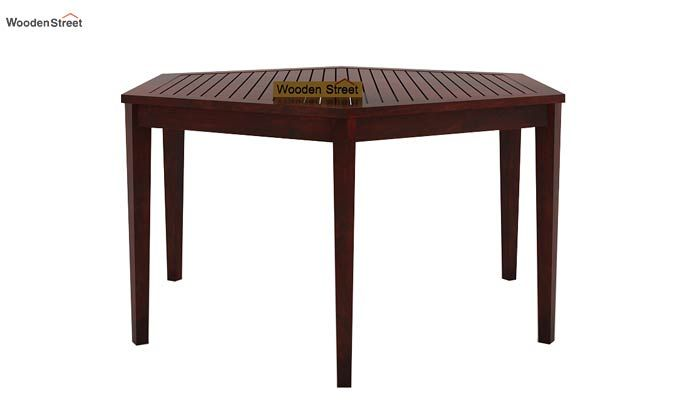 Mohave 6 Seater Dining Table Set (Mahogany Finish)-4