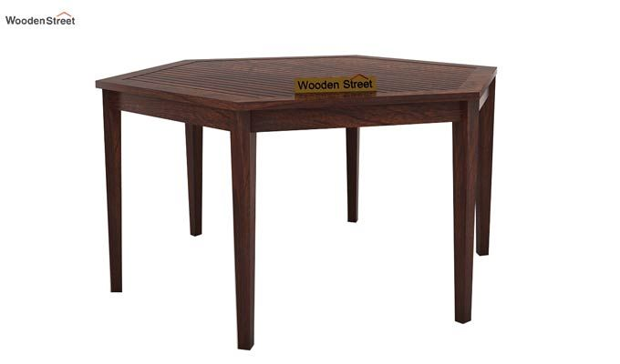 Mohave 6 Seater Dining Table Set (Walnut Finish)-4