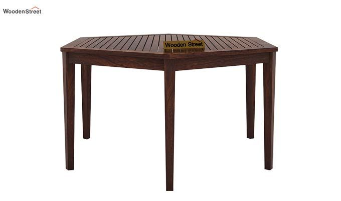 Mohave 6 Seater Dining Table Set (Walnut Finish)-5