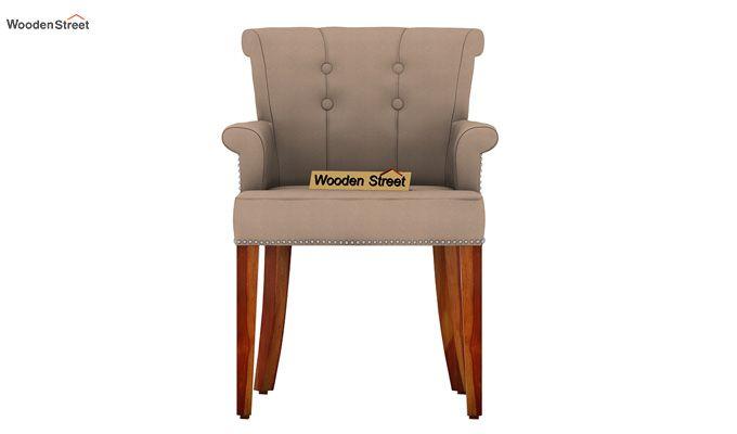 Redigo 6 Seater Dining Table Set (Honey Finish)-6