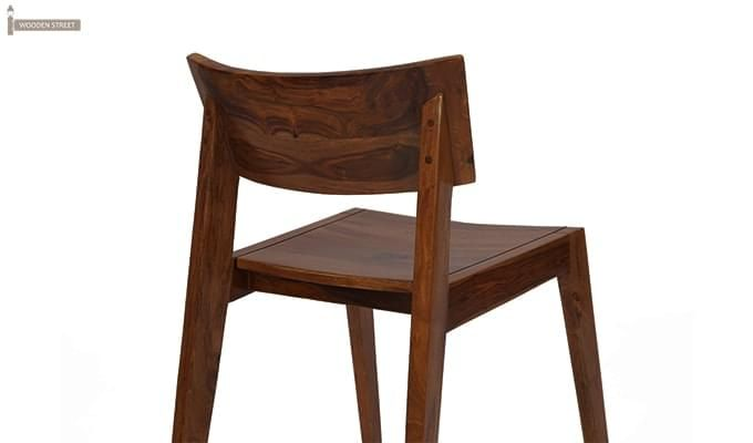 Tancy Dining Chair (Teak Finish)-4