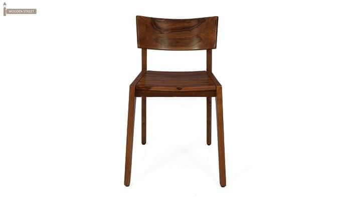 Tancy Dining Chair (Teak Finish)-2