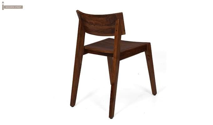 Tancy 6 Seater Extendable Dining Set (Teak Finish)-8