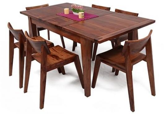 extendable dining table set online india