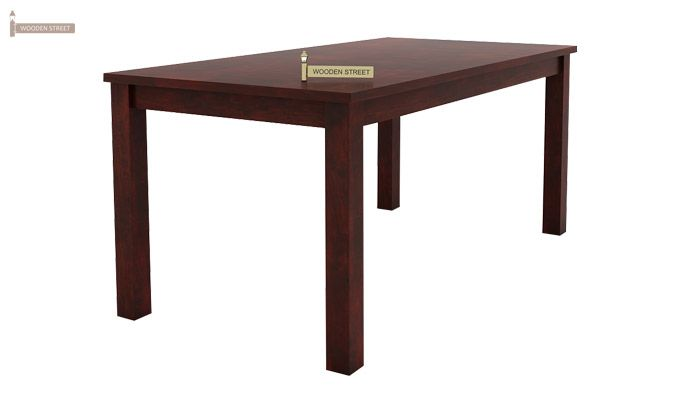 Terex 6 Seater Dining Set With Bench (Mahogany Finish)-4