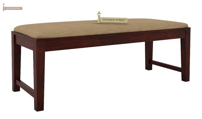 Terex 6 Seater Dining Set With Bench (Mahogany Finish)-8