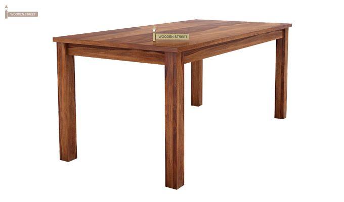 Terex 6 Seater Dining Set With Bench (Teak Finish)-4