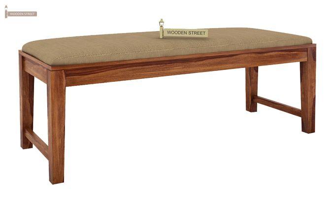 Terex 6 Seater Dining Set With Bench (Teak Finish)-8