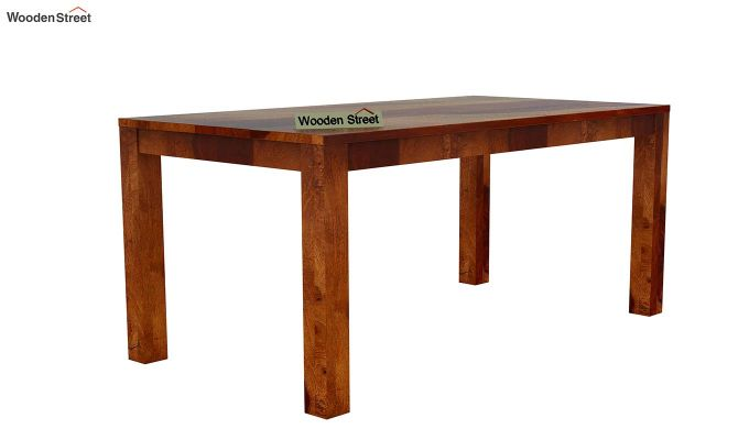 Volpel 6 Seater Dining Table Set-6