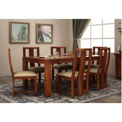 Volpel 6 Seater Dining Table Set