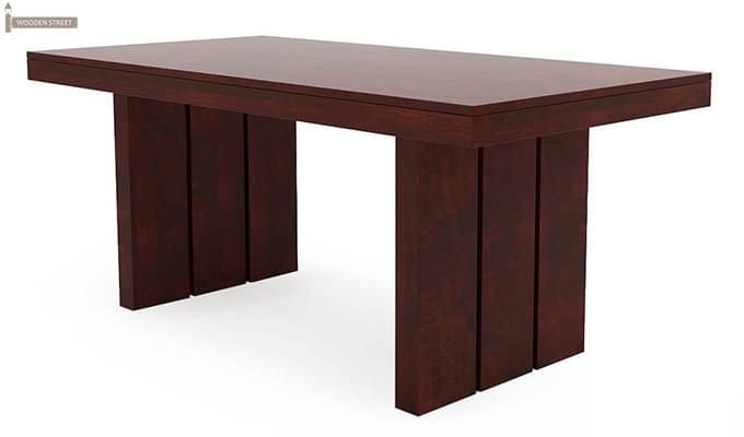 Wertex 6 Seater Dining Set (Mahogany Finish)-10