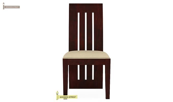 Wertex 6 Seater Dining Set (Mahogany Finish)-6