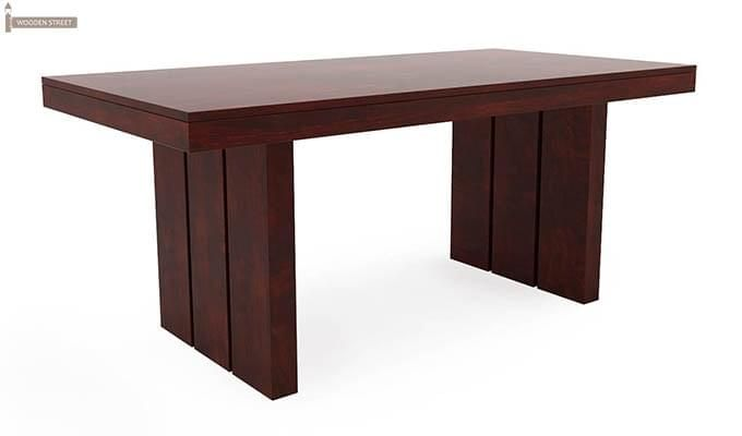 Wertex 6 Seater Dining Set (Mahogany Finish)-8