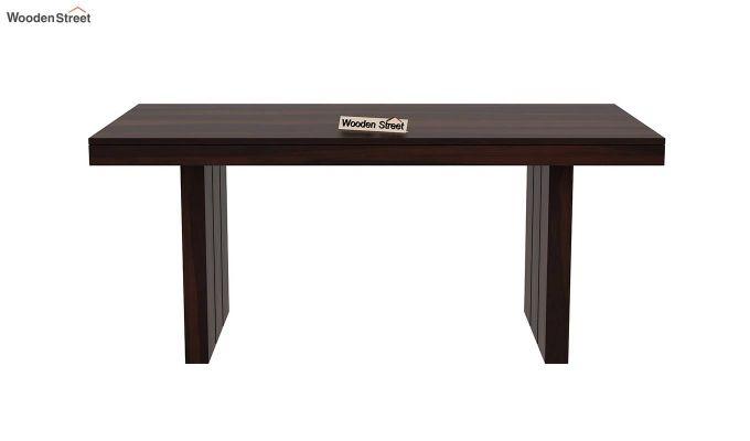 Wertex 6 Seater Dining Set (Walnut Finish)-6