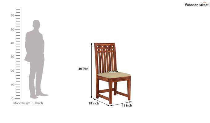 Adolph 8 Seater Dining Set (Honey Finish)-9