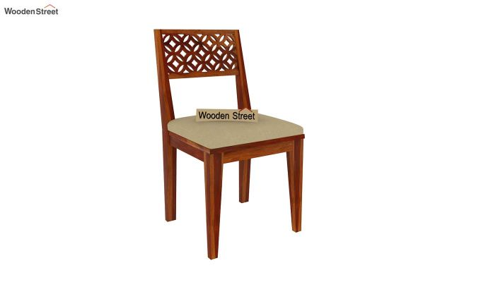 Cambrey 8 Seater Dining Set (Honey Finish)-5