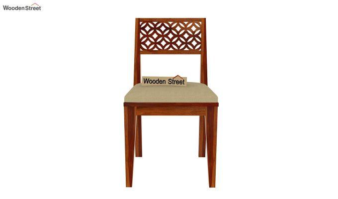 Cambrey 8 Seater Dining Set (Honey Finish)-6