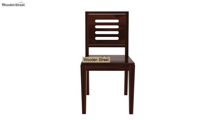 Janet 8 Seater Dining Set (Walnut Finish)-5