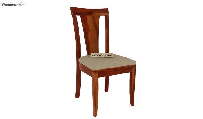 Mcbeth Storage 8 Seater Dining Set (Honey Finish)-5