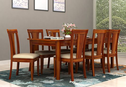 8 Seater Dining Table Set Online India