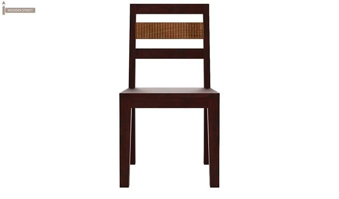 Toure 8 Seater Dining Set (Mahogany Finish)-7