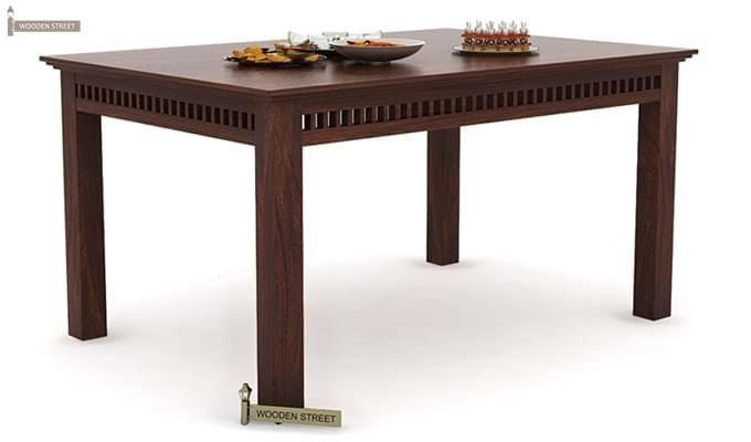 Adolph Dining Table (Walnut Finish)-1