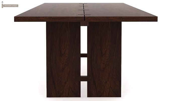 Angelia Dining Table (Walnut Finish)-3