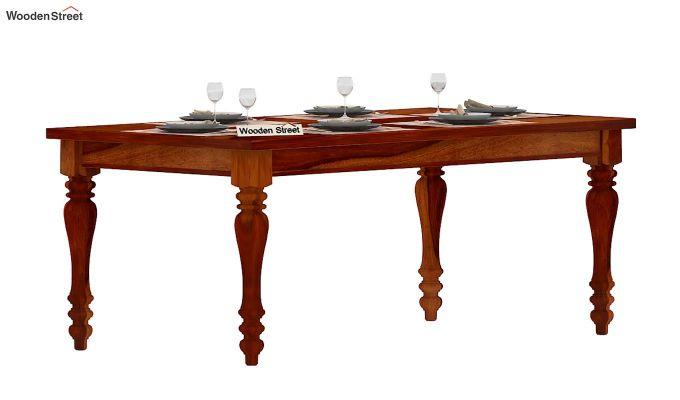 Arenberg Dining Table (Honey Finish)-1