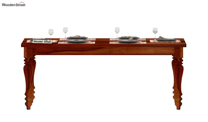 Arenberg Dining Table (Honey Finish)-2