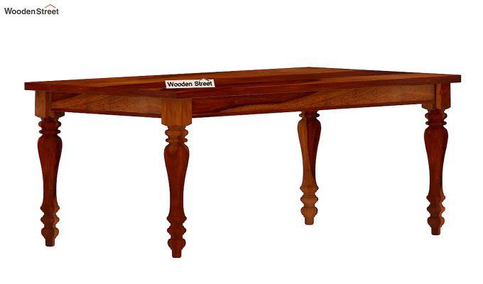 Arenberg Dining Table (Honey Finish)-3